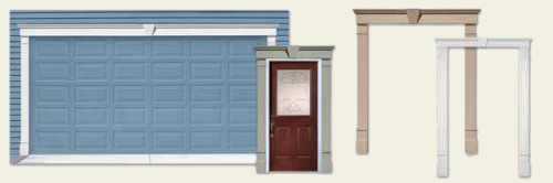 For Door Surrounds, Headers With Welded On End Caps Require Modification In  The Field To Fit Flush With The Pilaster.